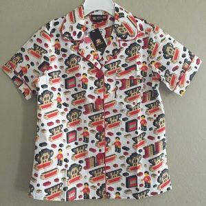 🍁 Julius and Friends Boys Lego pajama top